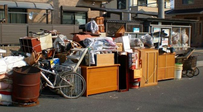 Zbiórka odpadów wielkogabarytowych,  elektrycznych i elektronicznych